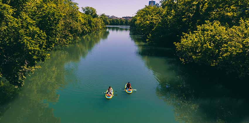 Austin Paddle Board Rentals | Realty Austin
