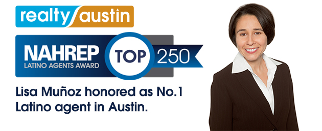 Lisa Muñoz Ranks #1 Top Austin Latino Agent by NAHREP