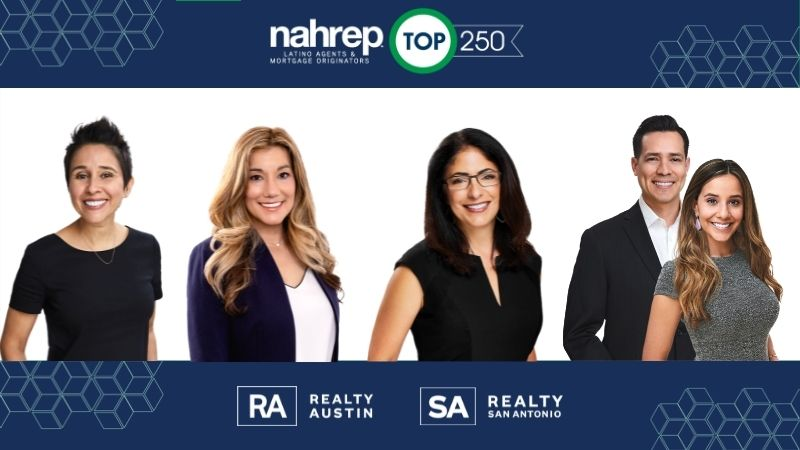 Realty Austin Agents Make NAHREP 2020 Top 250 Latino Agents Report