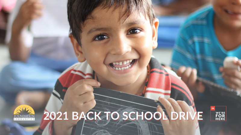 2021 Foundation Communities Back to School Drive
