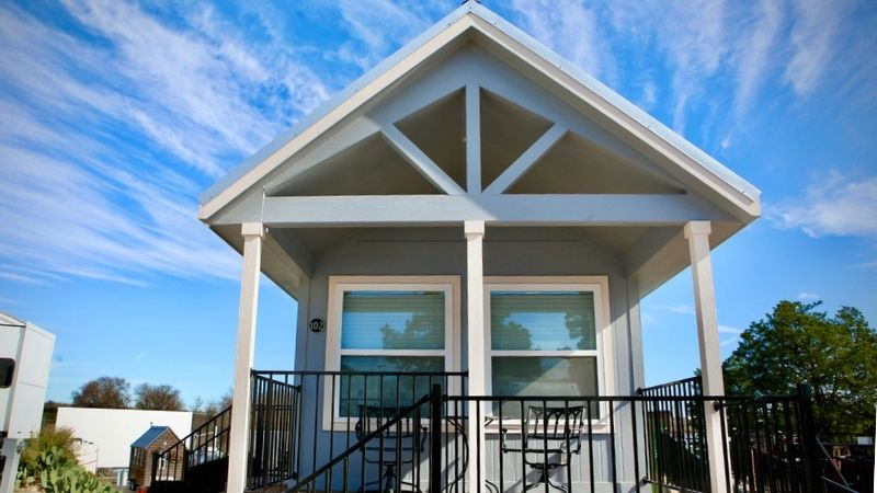 Realty Austin Sponsors Park Home At Community First! VIillage