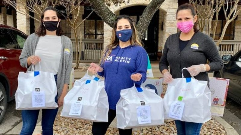 Realty Austin Partners with Local Restaurants to Deliver Meals Following Winter Storm