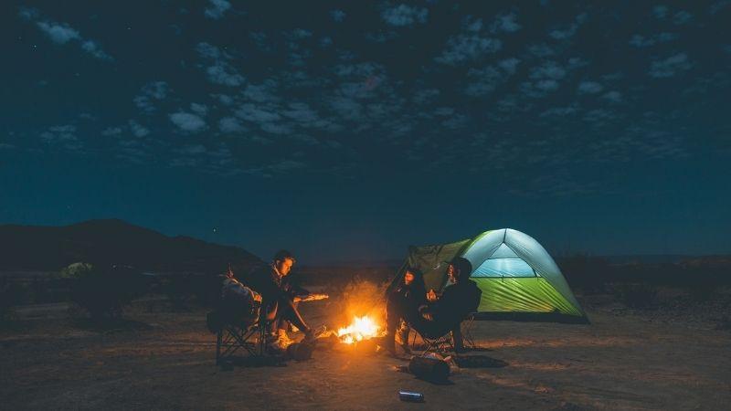 Image of Backyard Camping
