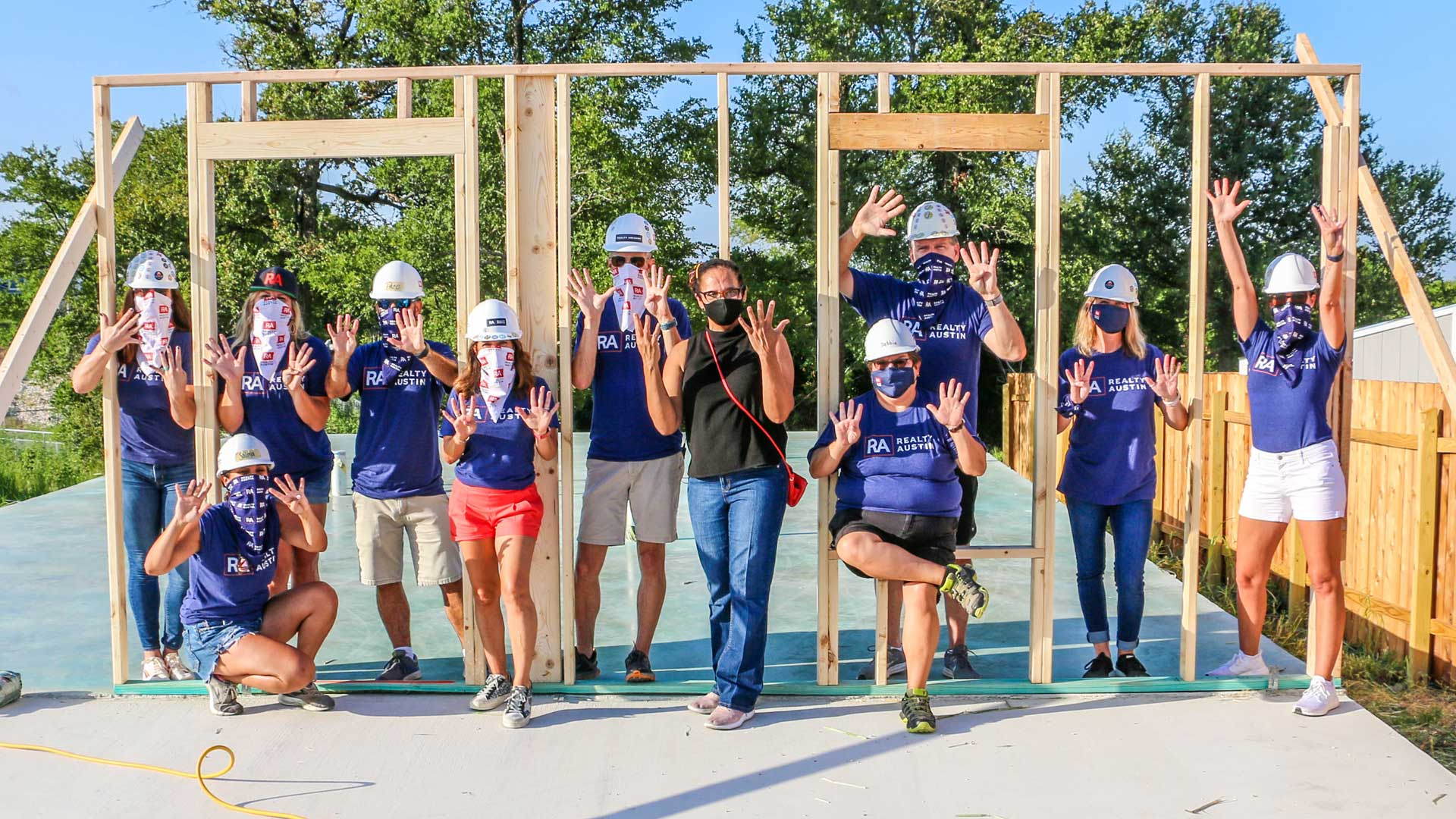 Realty Austin Kicks Off 9th Annual Habitat for Humanity Home Build