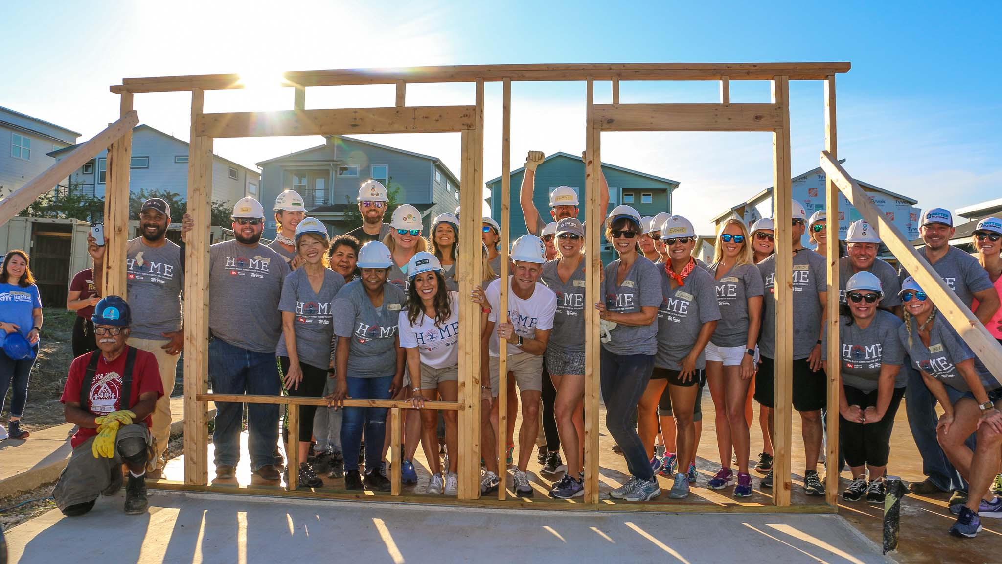 Realty Austin Pledges to Build 8th Home for Austin Habitat