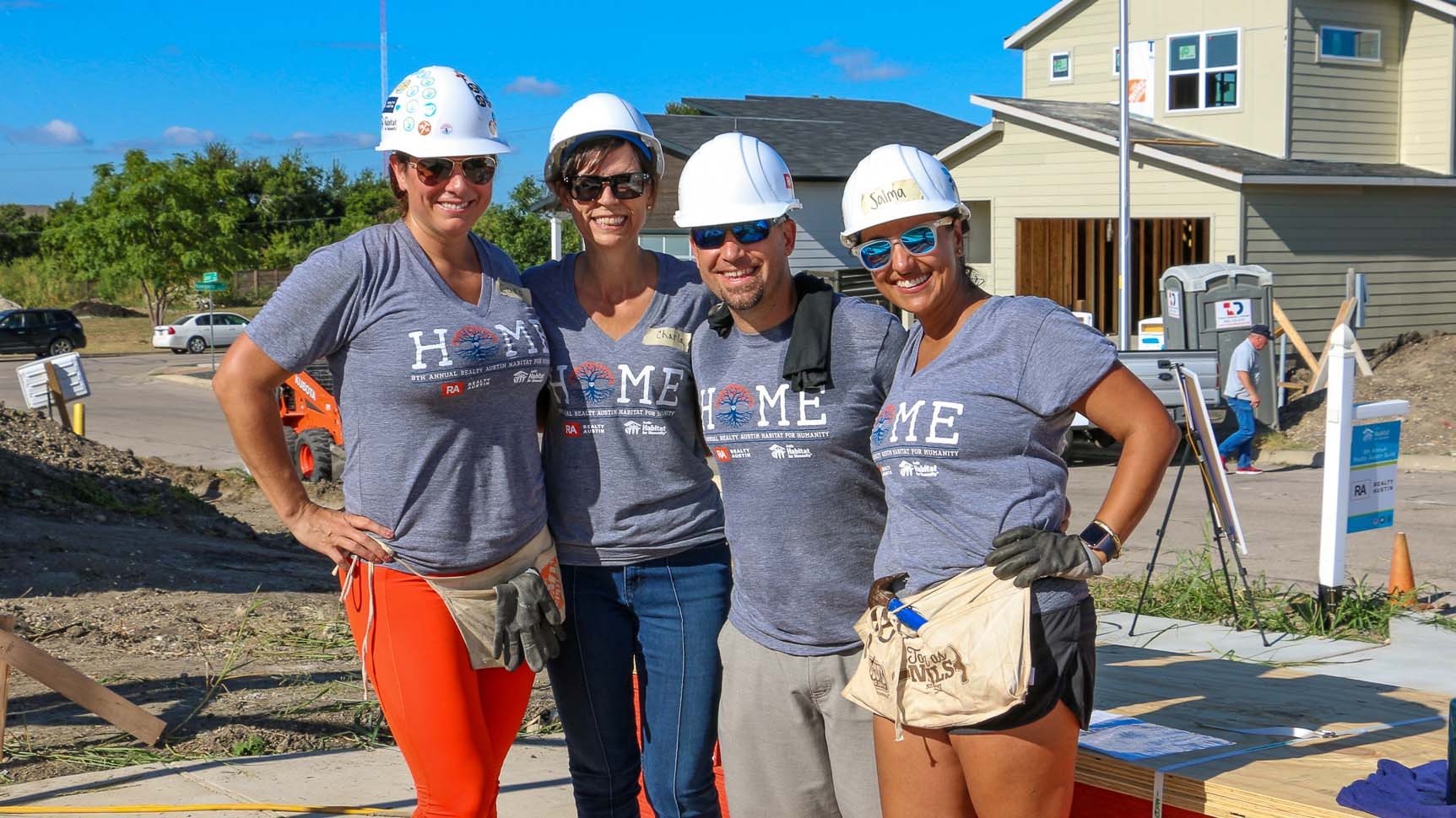Image of 8th Realty Austin Habitat Home Build