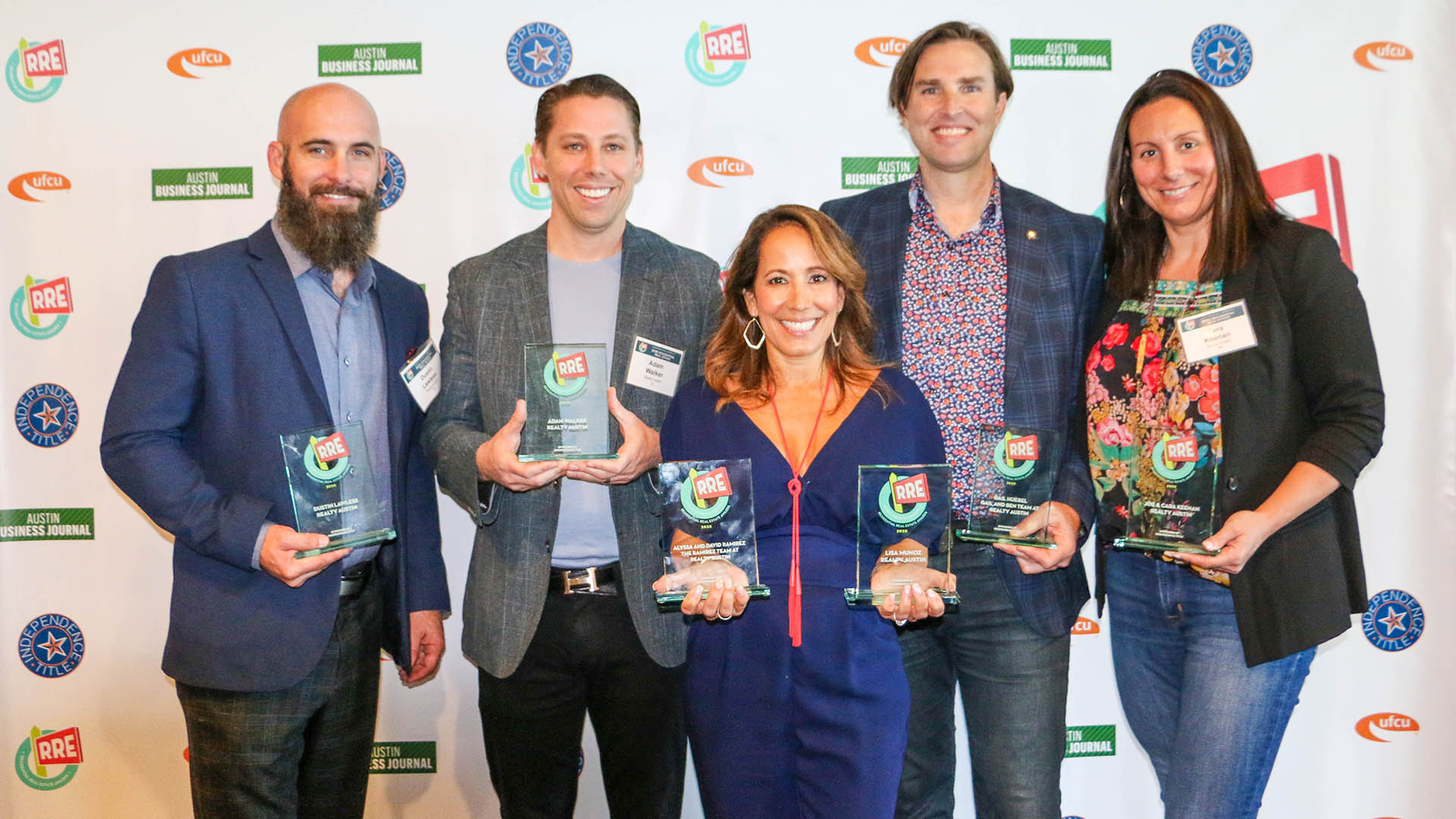Realty Austin Agents Honored at the Austin Business Journal's 2020 Residential Real Estate Awards