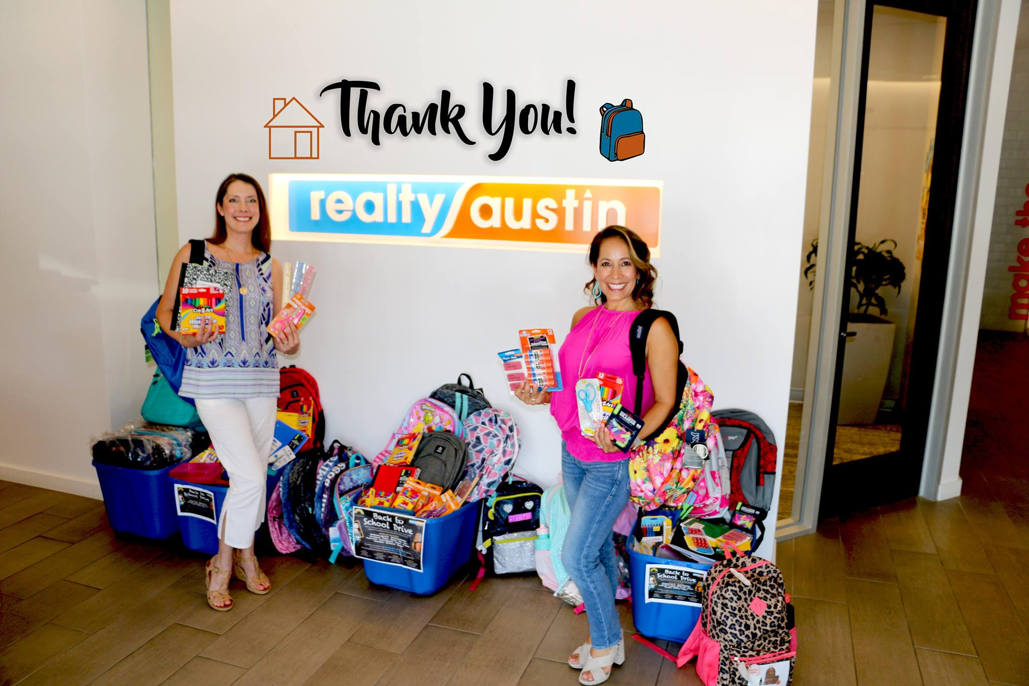 Image of Foundation Communities' Back to School Supply Drive