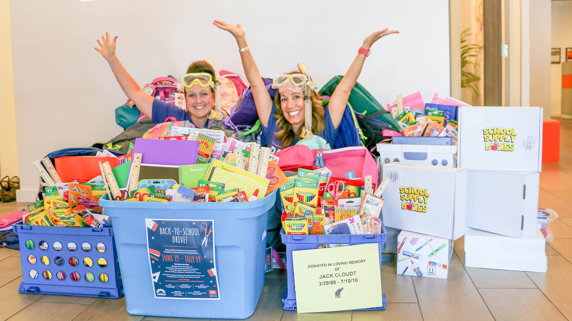 Image of 2019 Back to School Supply Drive