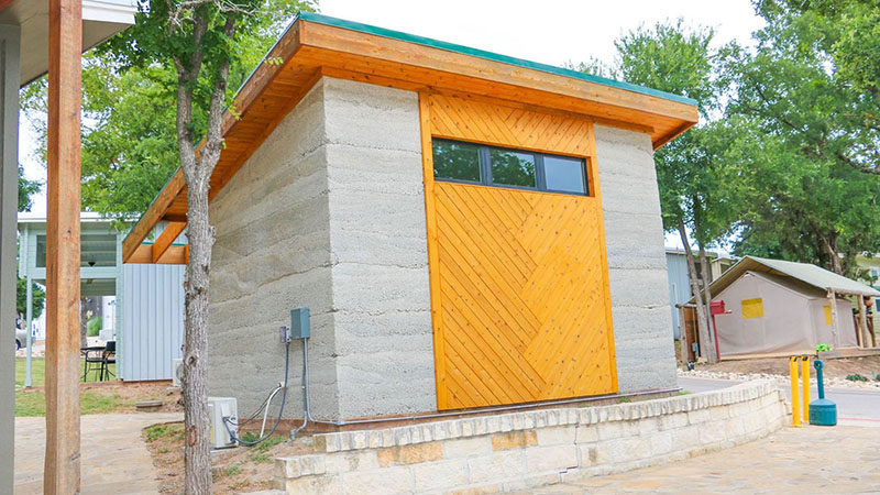 Realty Austin Dedicates Tiny Hemp Home at Community First! Village