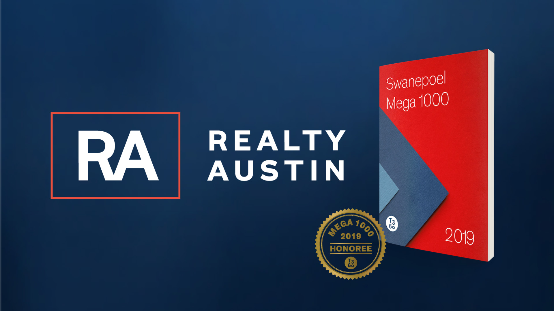 Image of Realty Austin Recognized in Top 100 on Swanepoel's Mega 1000