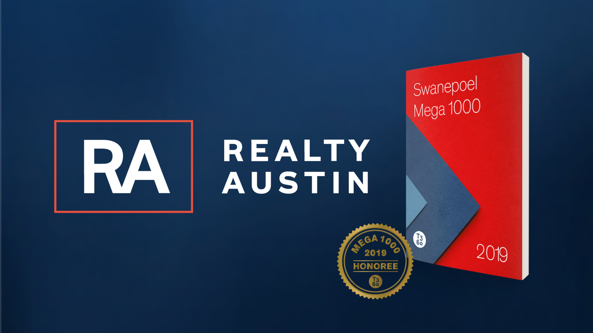 Realty Austin Recognized in Top 100 on Swanepoel's Mega 1000