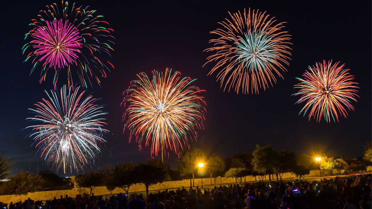 Image of Taylor Annual 4th of July Fireworks