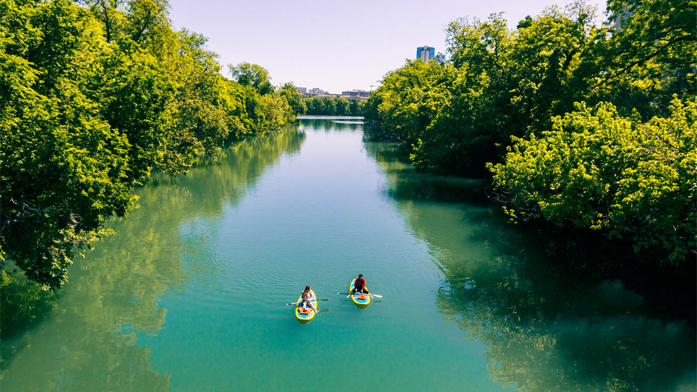 Austin Paddle Board and Kayak Rentals | Stand Up Paddle Board Austin