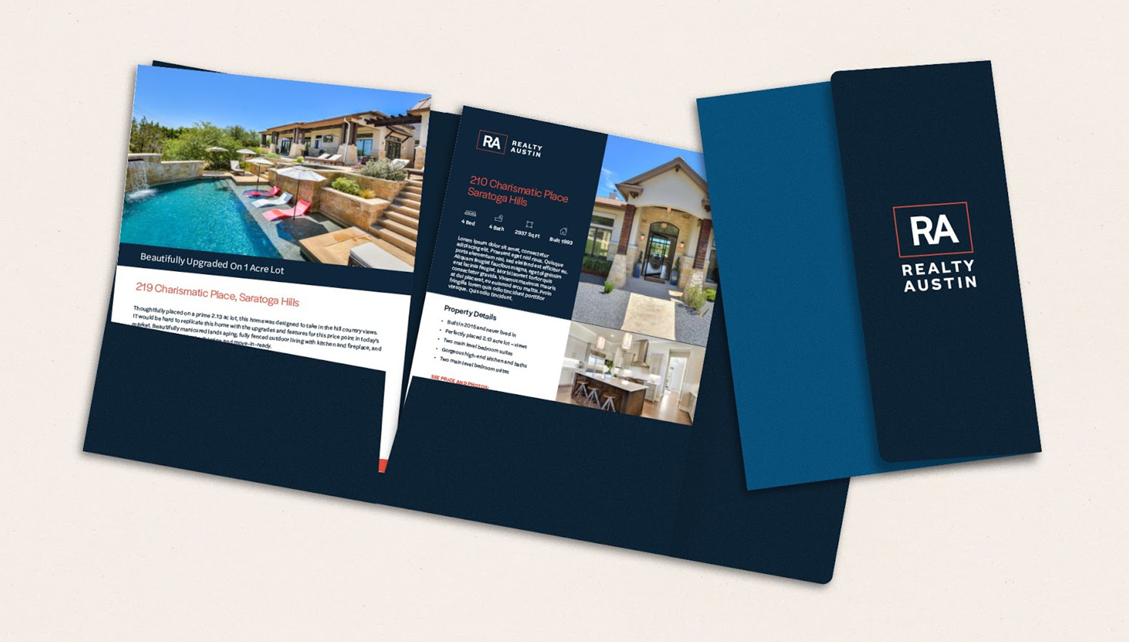 Realty Austin Rebrand Marketing Collateral