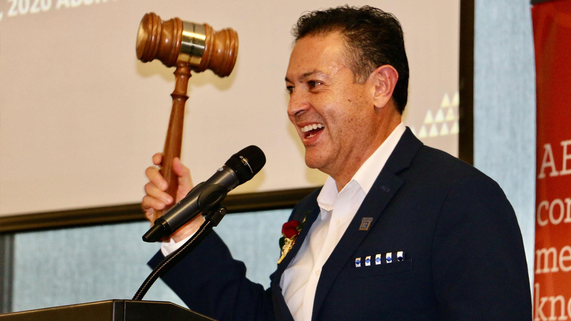Image of The Romeo Manzanilla Named ABOR President