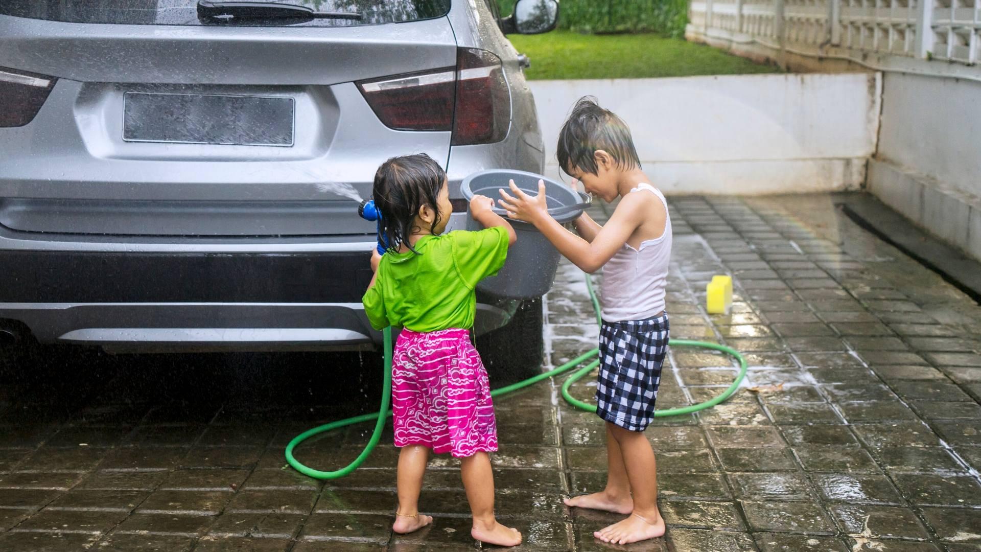 Image of Washing Your Car