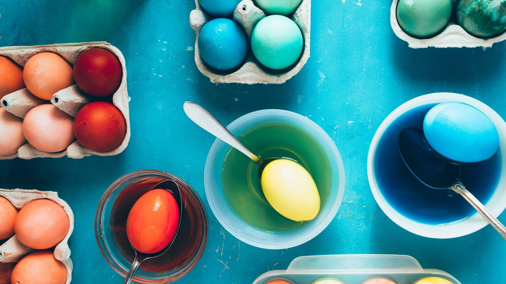Image of Dyeing Eggs
