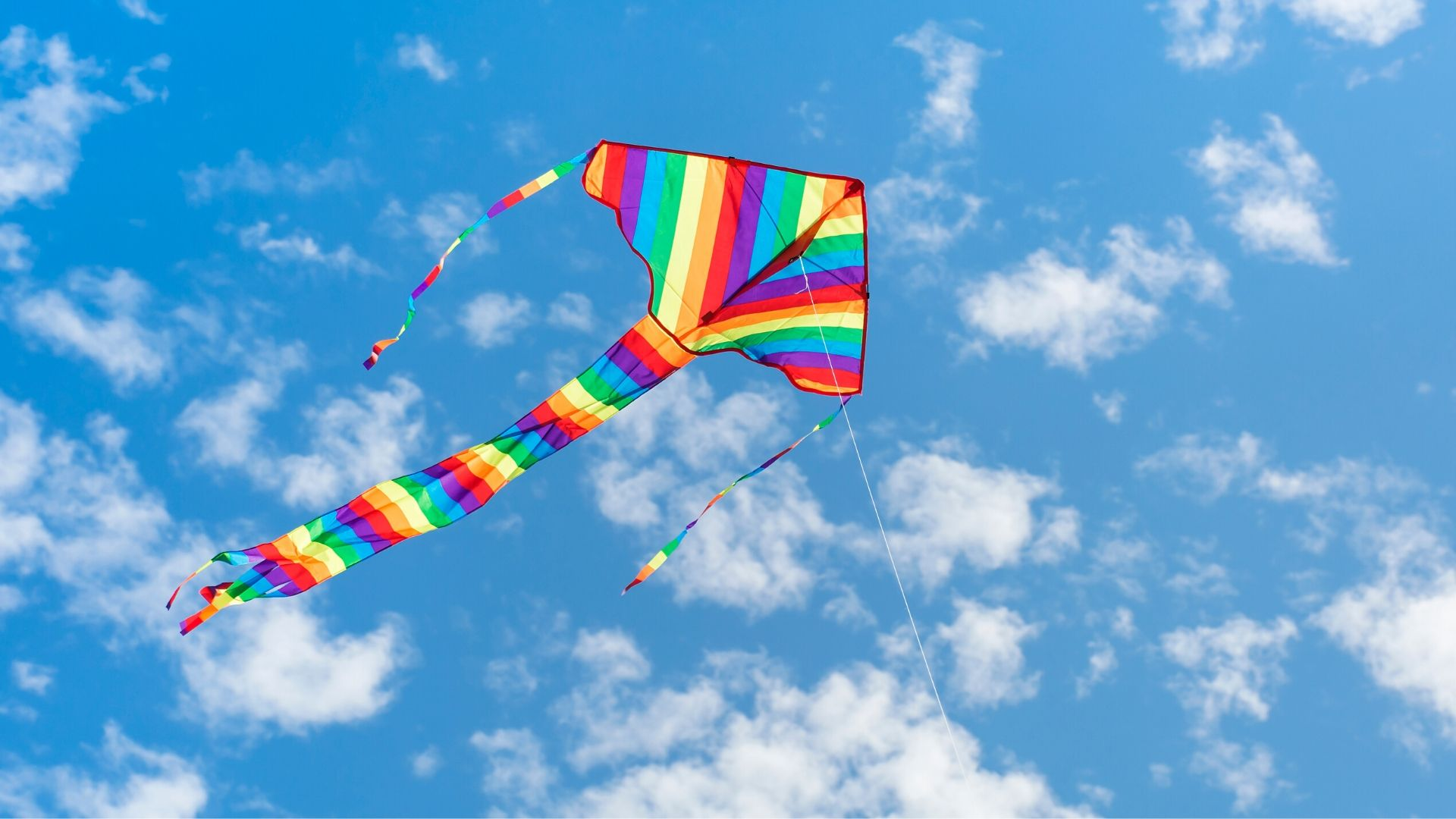 Image of Flying a Kite