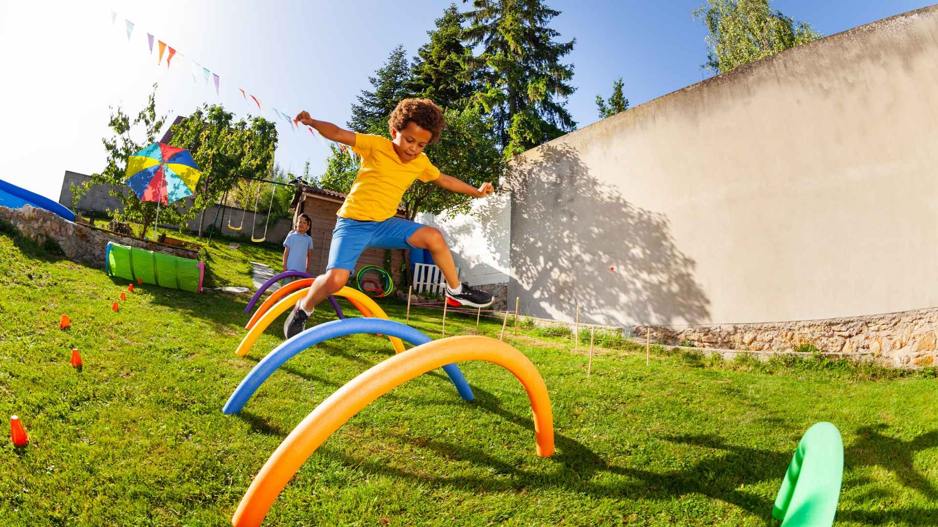 Image of Building an Obstacle Course