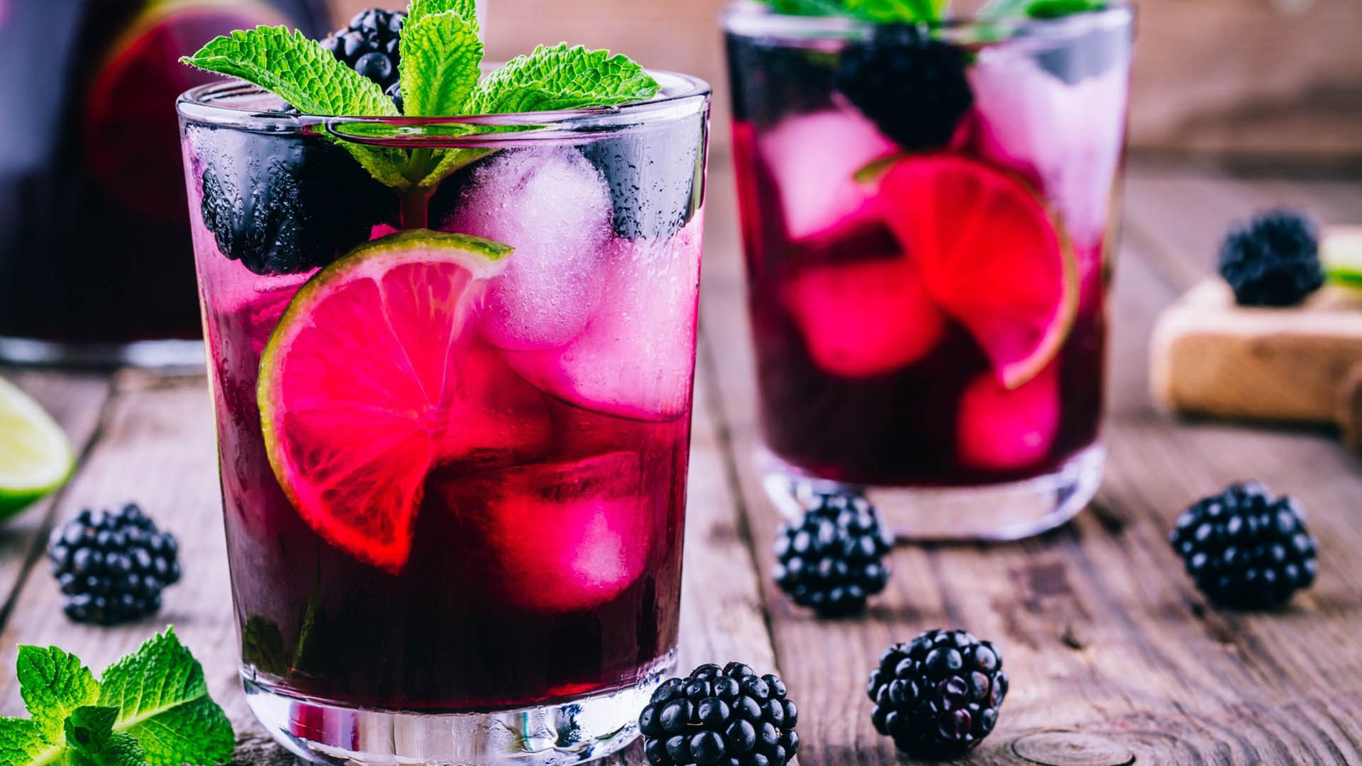 Image of Blackberry Lime Soda