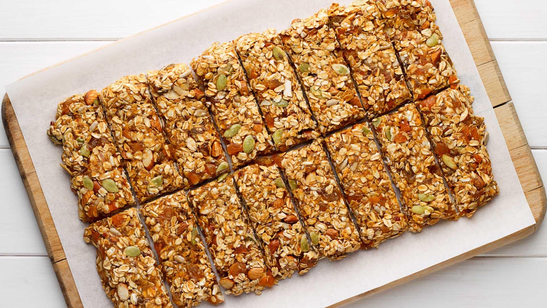 Image of Homemade Granola Bars