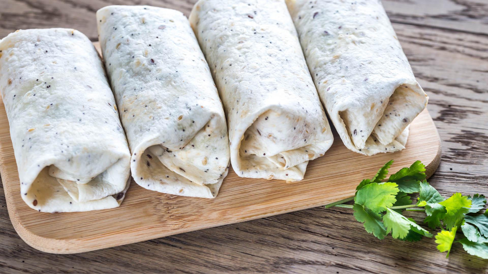 Image of Hummus Edamame Veggie Wrap