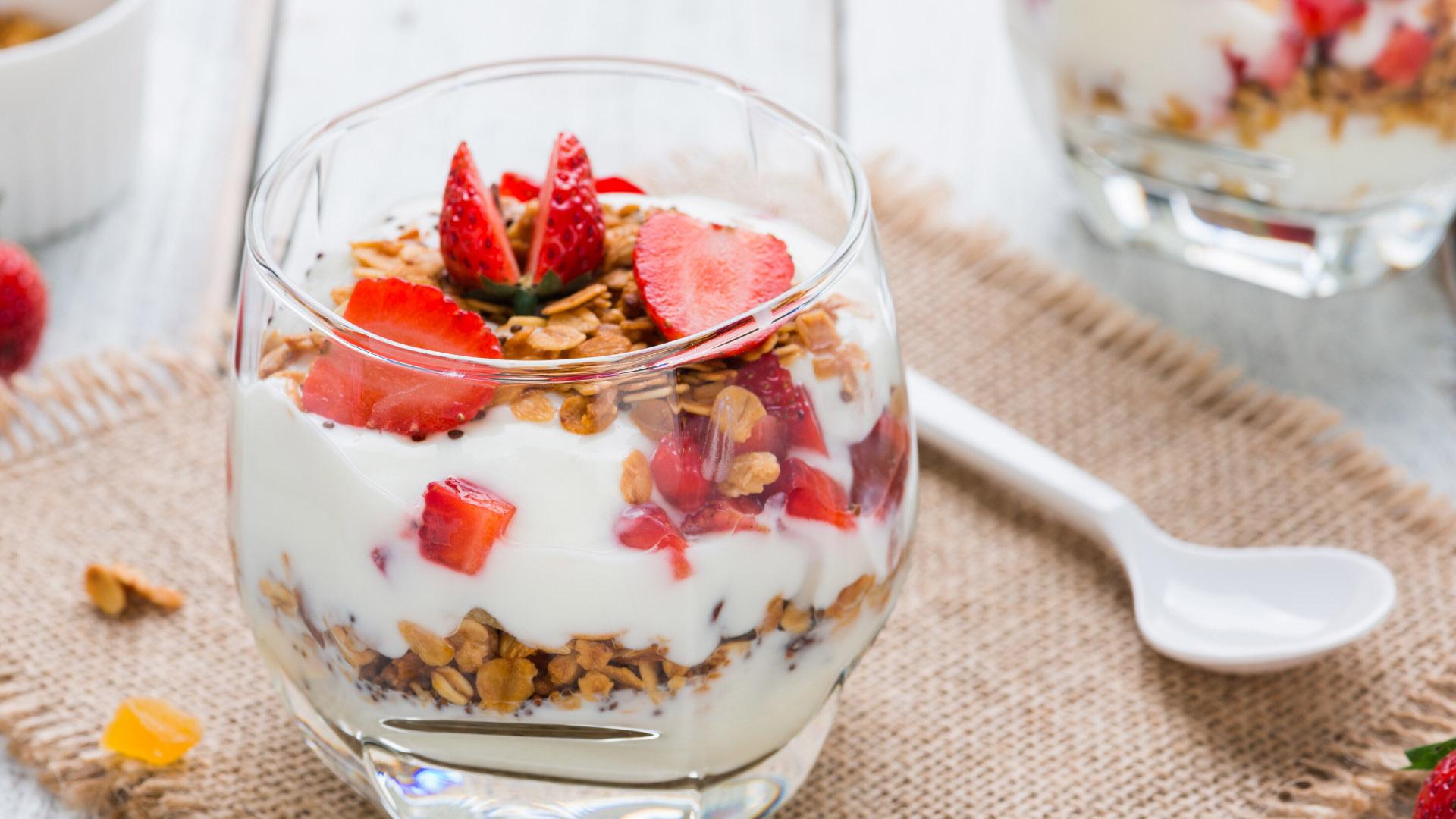 Image of Yogurt and Granola Trifle