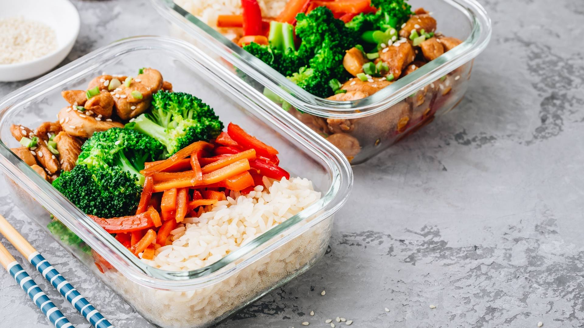 Image of Meal prep and keep your fridge stocked with healthy snacks
