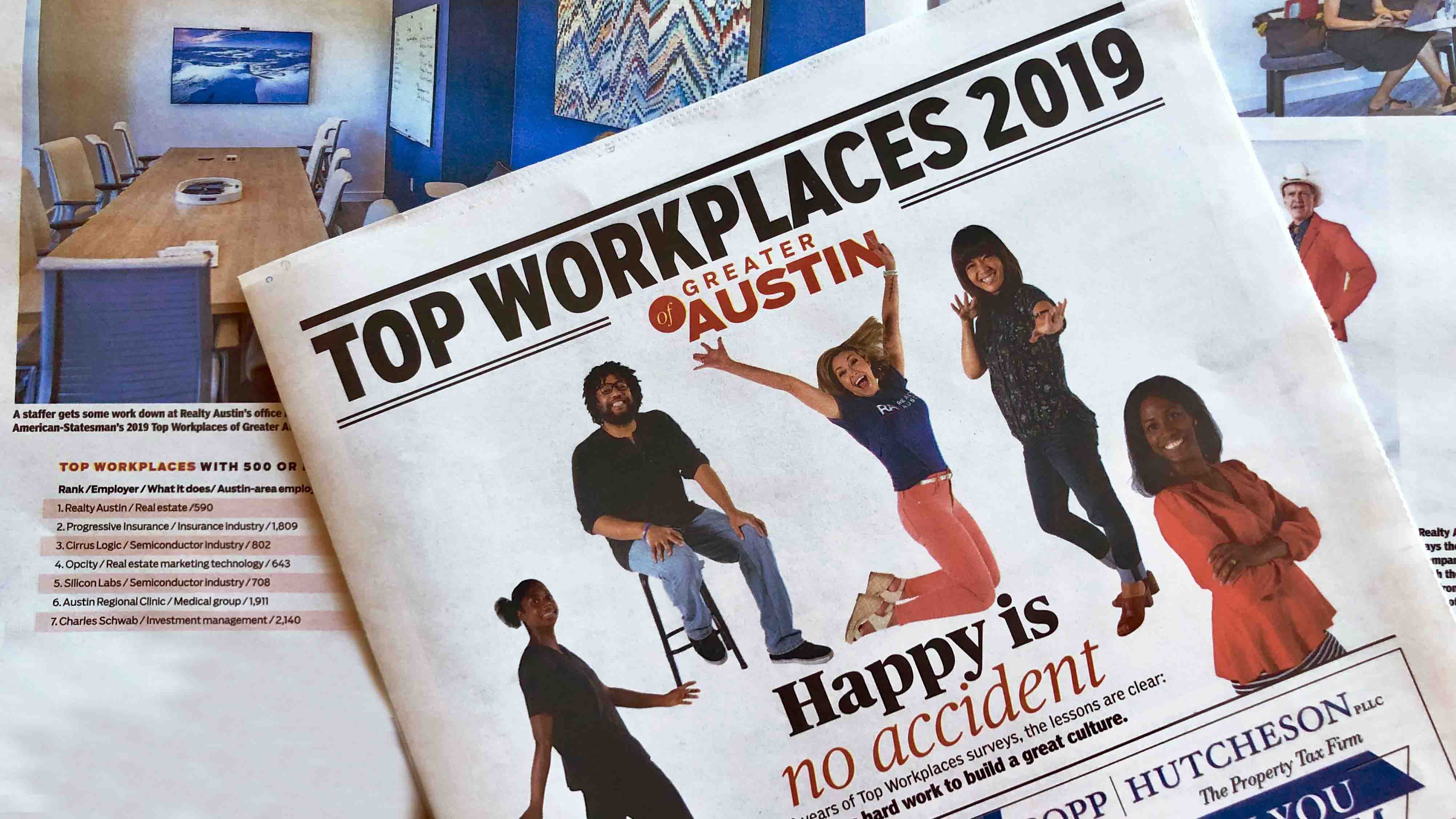 REALTY AUSTIN IS #1 TOP WORKPLACE