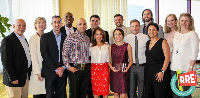 Image of Realty Austin Agents at Residential Real Estate Awards