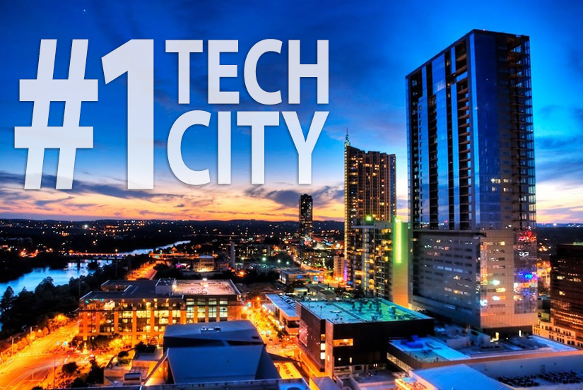 Image of Austin #1 tech city - America's Next Boom Town