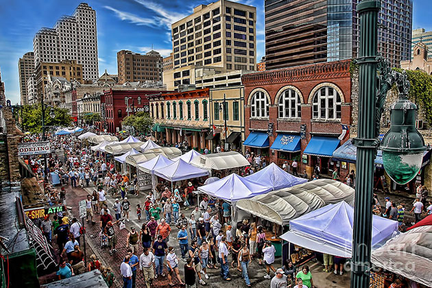 Pecan Street Festival - Austin Festival Guide 2017 - Realty Austin