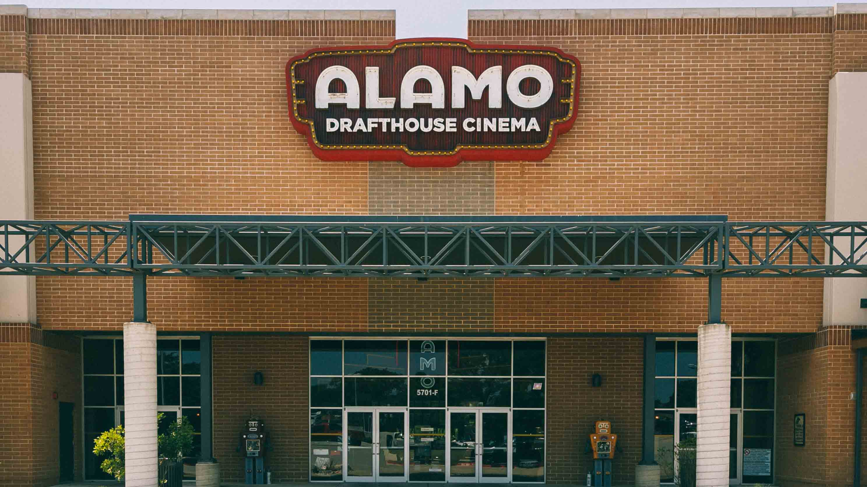 Image of Alamo Drafthouse Theater Sign