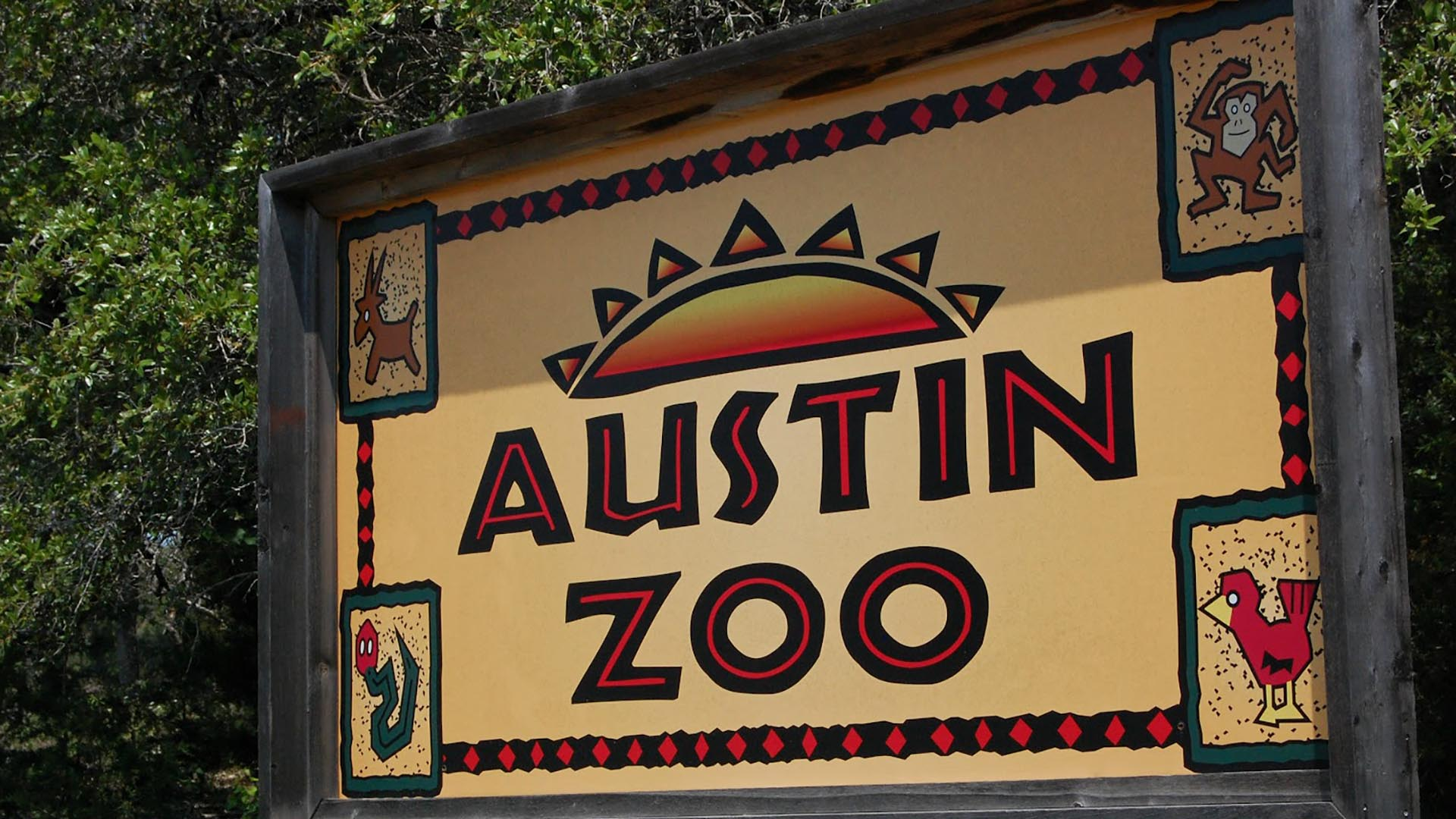 Image of Austin Zoo Sign