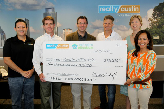 Realty Austin's Top Moments of 2013 - Realty Austin - Realty Austin Supports Keep Austin Affordable