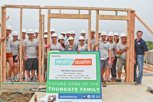 Realty Austin's Top Moments of 2013 - Realty Austin - 2nd Annual Habitat for Humanity Build