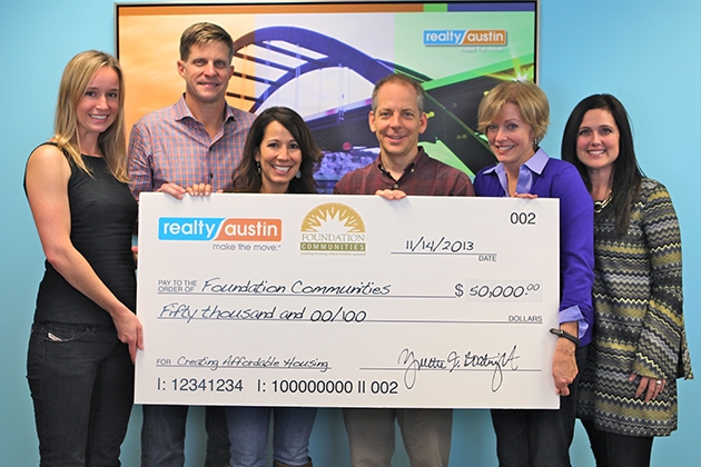 Realty Austin's Top Moments of 2013 - Realty Austin - Realty Austin Raises Money for Foundation Communities