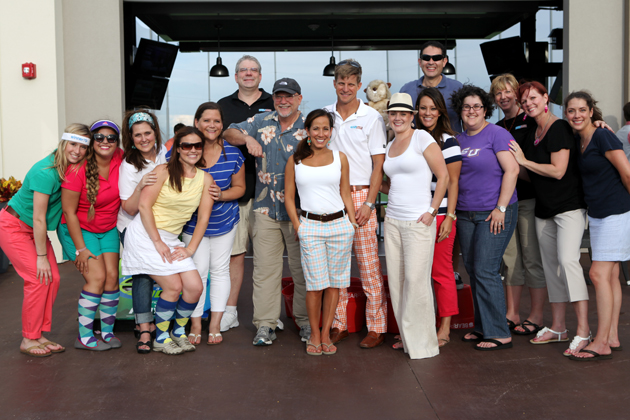 Realty Austin's Top Moments of 2013 - Realty Austin - Staff Appreciation at Top Golf