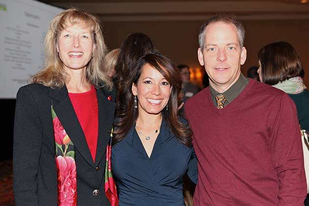 Yvette Boatwright with Walter Moreau and Debbie Johnson