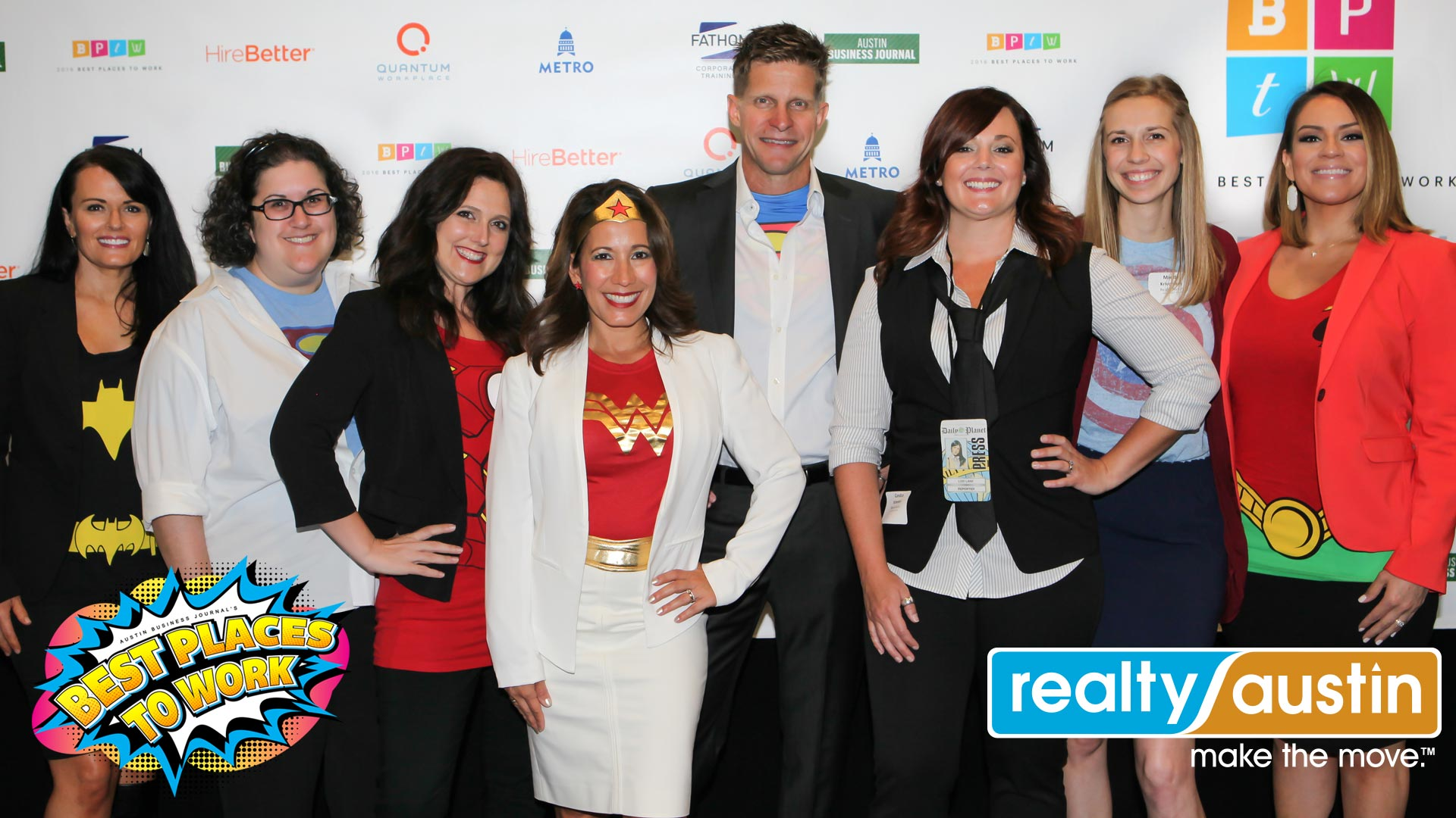 Image of Realty Austin Staff at Best Places to Work Awards