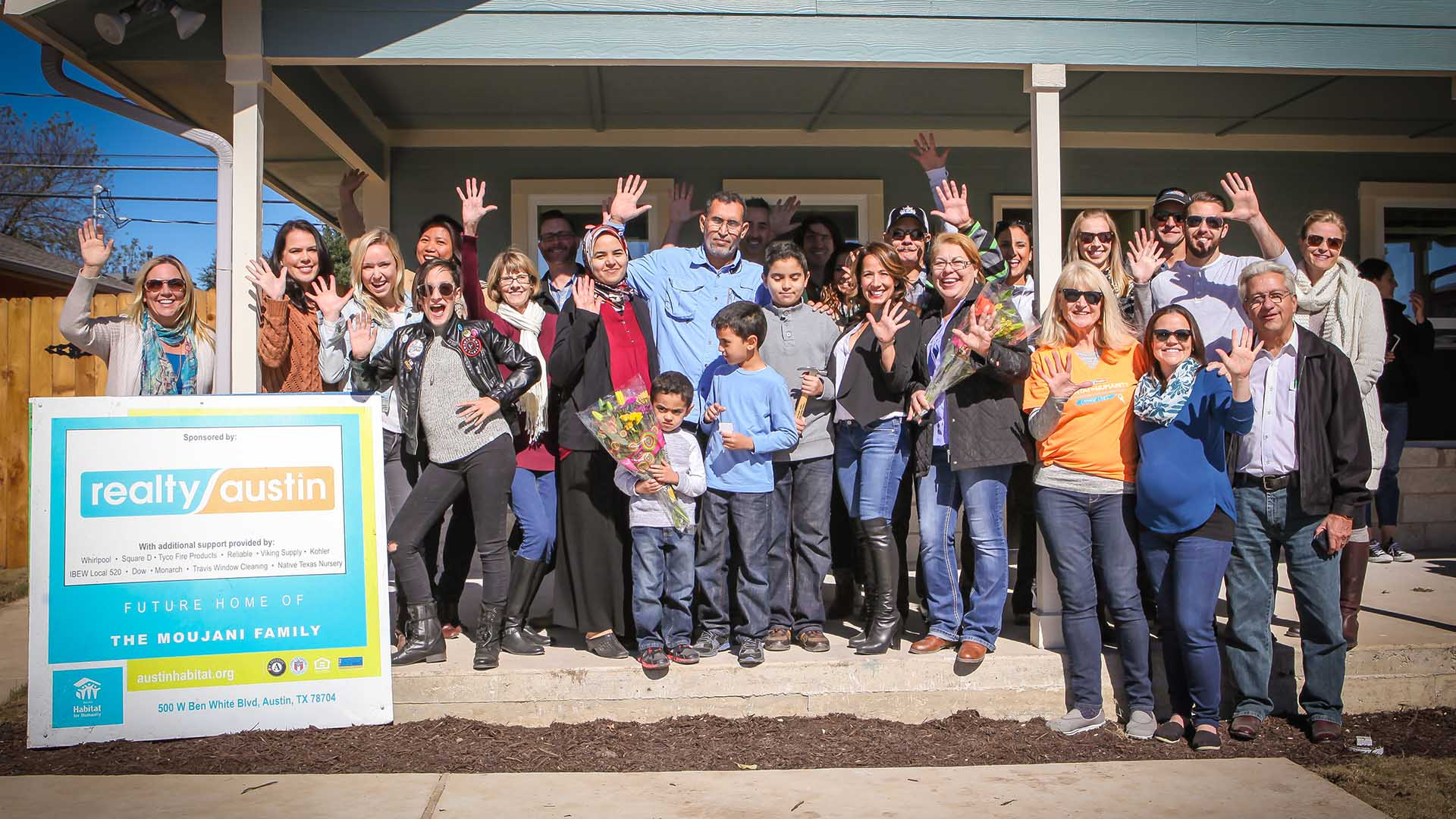 Image of Habitat for Humanity Dedication