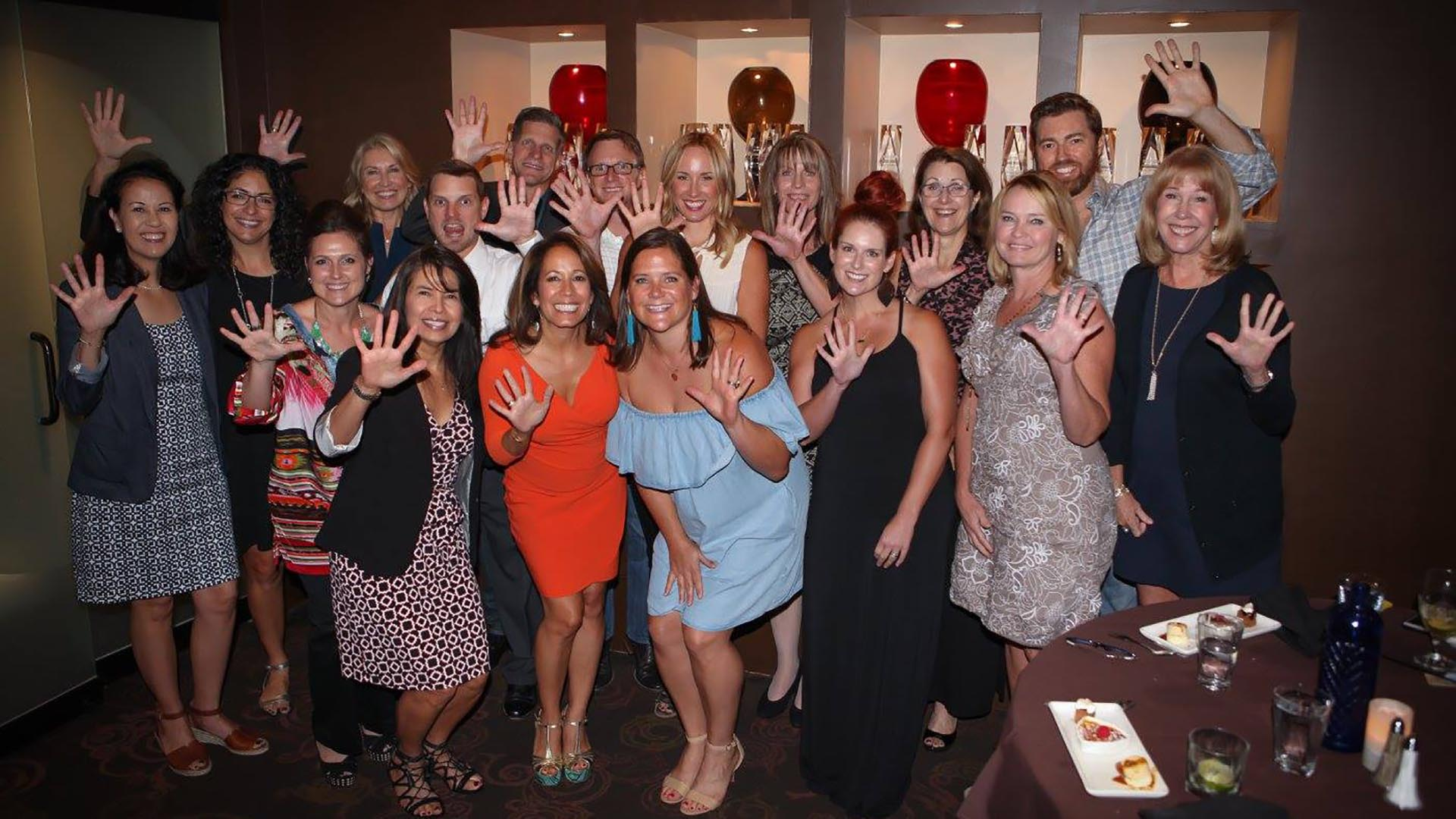 Image of Realty Austin Agents at Hall of Fame Luncheon