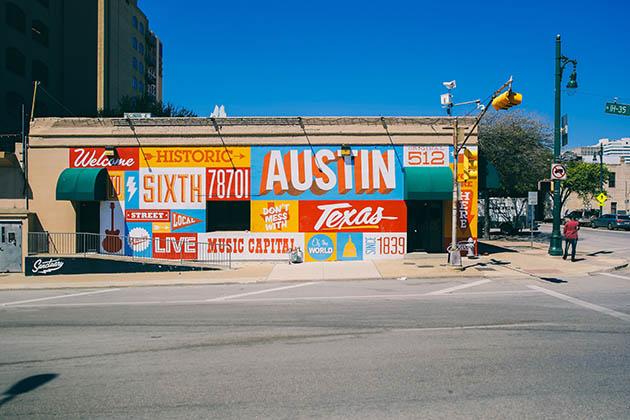 Photo of Austin, Texas Mural