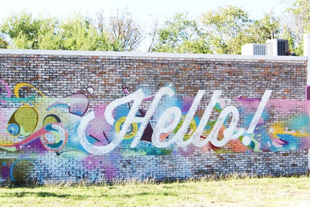 Photo of Hello Mural