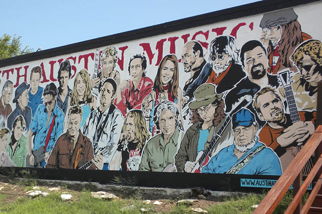 Photo of Mural of Musicians