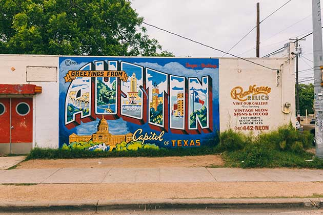 Photo of Greetings from Austin