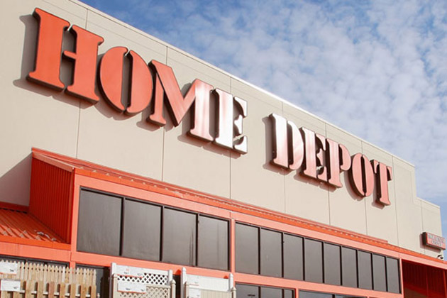 Image of Home Depot Recycling Christmas Lights in Austin, TX