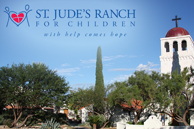 Image of St. Jude's Ranch for Children Recycling Christmas Cards in Austin, TX