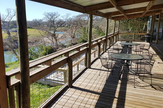 Image of Exterior Porch of Three Dudes Winery